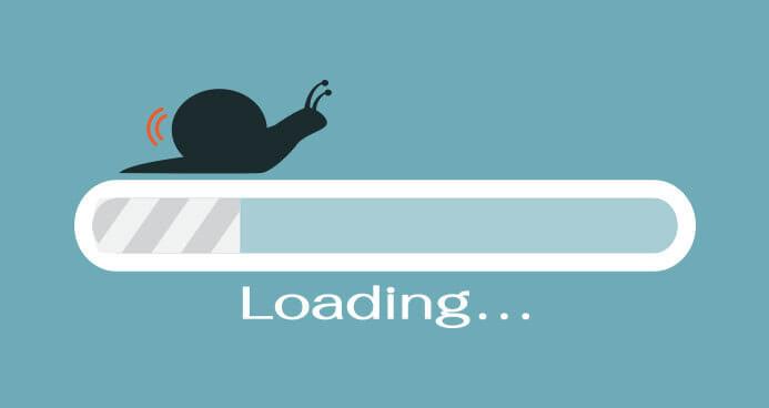 website lambat