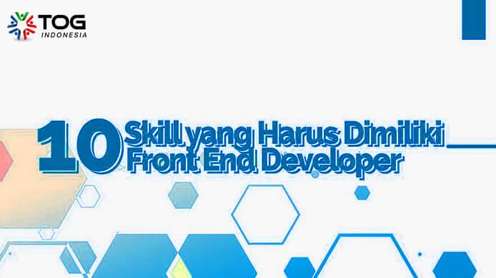 skill front end developer