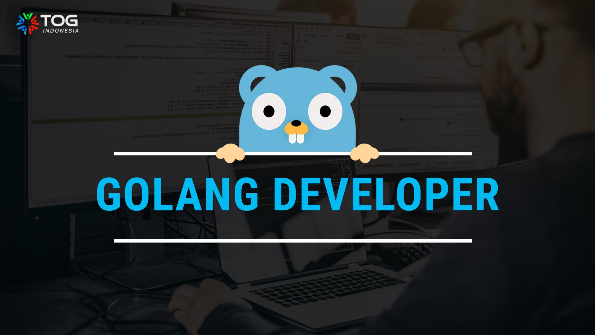 lowongan golang developer