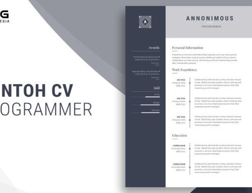 Contoh CV Programmer Agar Langsung Diterima Perusahaan