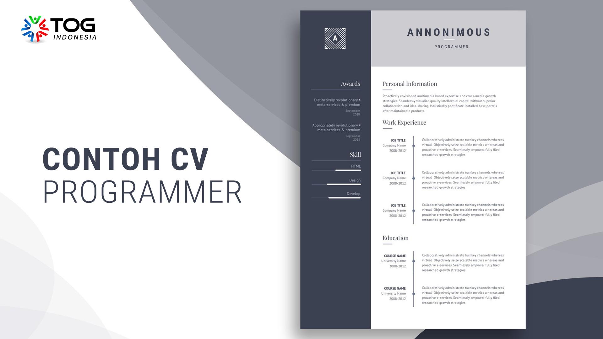 CV Programmer