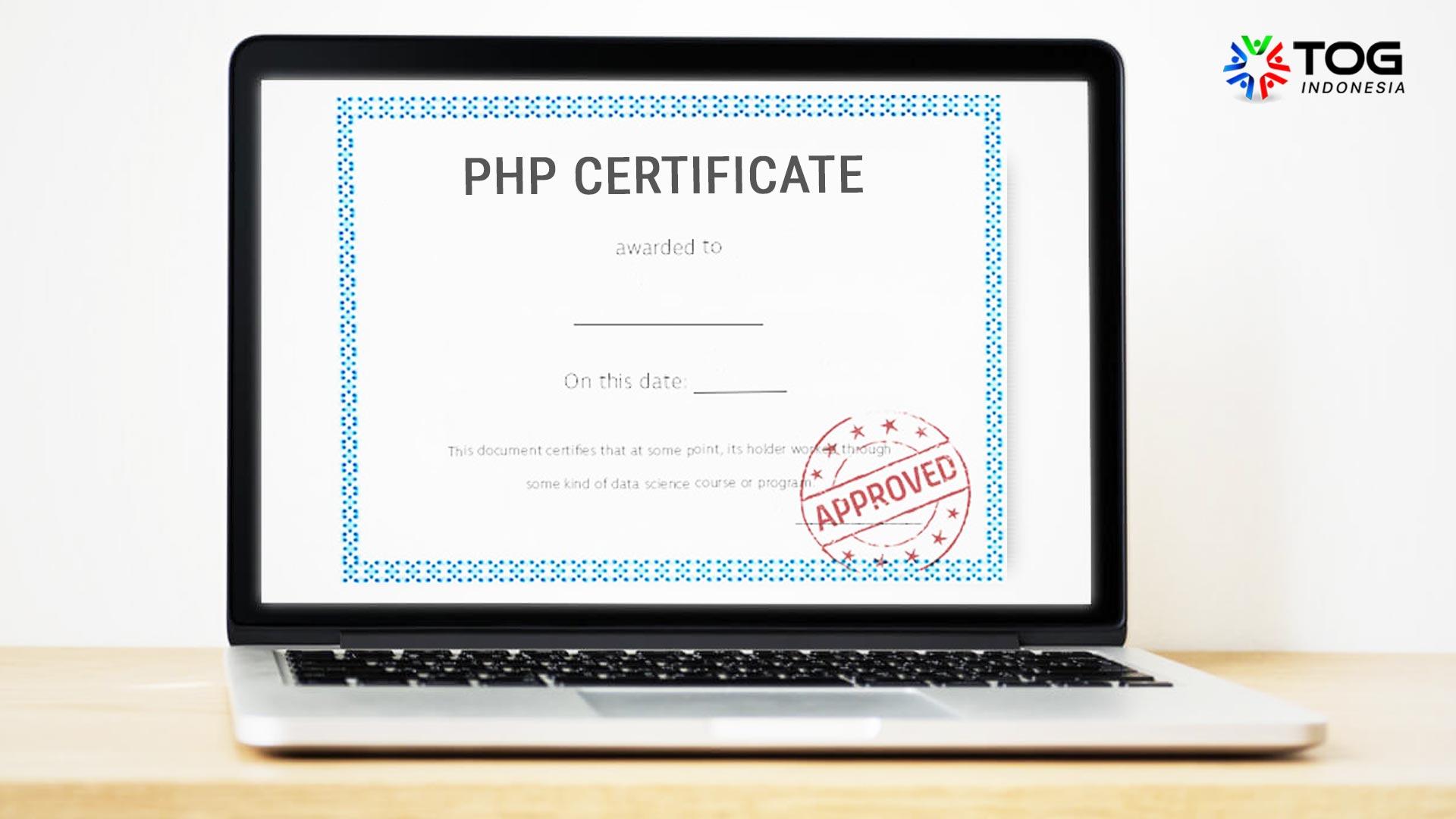 sertifikasi php