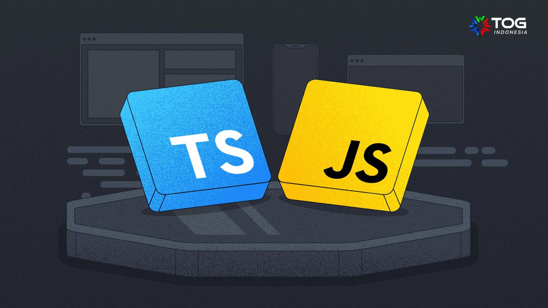 perbedaan typescript dan javascript